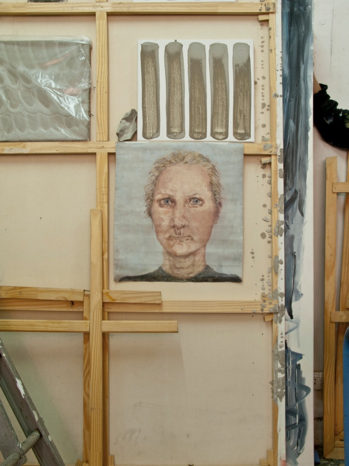 SIN TITULO, oleo sobre tela, 50 x 40 cm, 2003