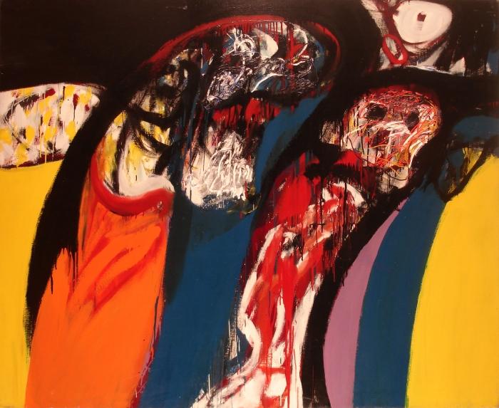 64 a  64 3 160x195 En torno al pensamiento A,1964-óleo s-tela Lucy Deira (1)