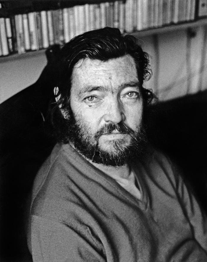 Ulla Montan. Julio Cortázar, París, 1981