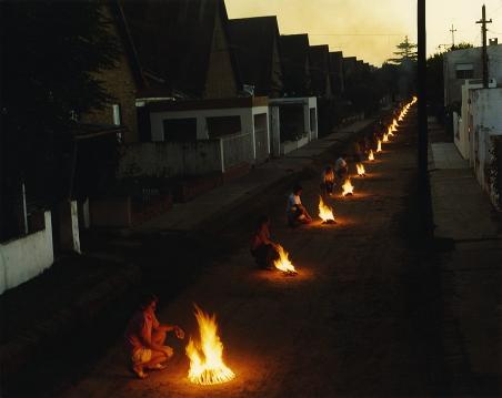 Arquitectura del fuego, en Mechita, por Doffo