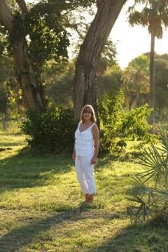Beatriz Moreiro y el jardín de su inspiración