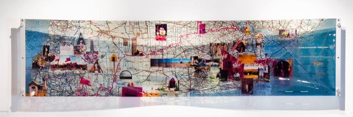 mapa de recorridos de Teresa Pereda