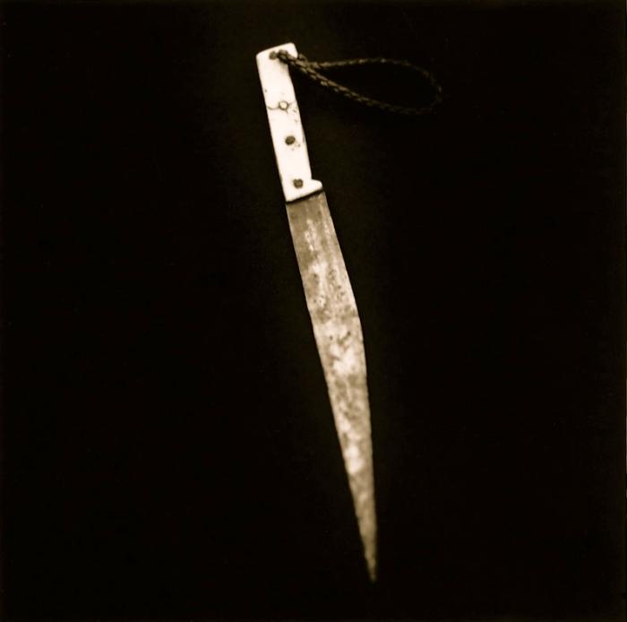 Punzocortante (2000) es un inventario de armas blancas.