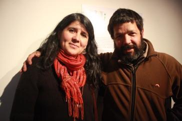 Mónica Alvarado y Pablo Smith