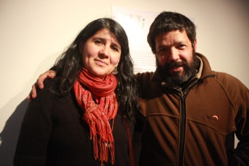 Mónica Alvarado y Pablo Smith
