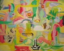 Badkeats, 2011, óleo sobre tela