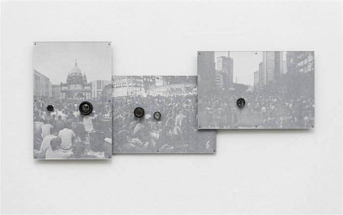 De la serie Operação, que la artista de Belo Horizonte realizó en 2014.