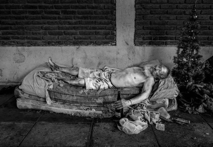 Carlos Bosch. Argentina. Autorretrato. De las serie Los miedos.2015