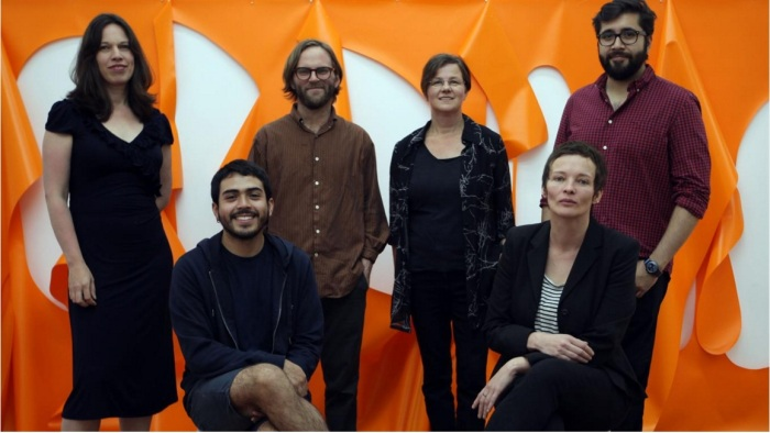 De izq. a der.: Linda Neilson, Samuel Lasso, Christian Newby, Kirsten Mosel, Julián León Camargo y Sylvie Argerich. (Ph: Emiliano Lasalvia).