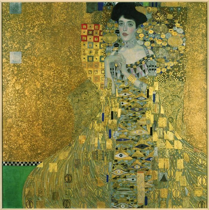 Gustav Klimt, Adele Bloch-Bauer I, 1907. ©Neue Galerie New York