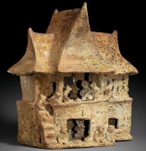 Modelo de Casa, Nayarit, Mexico, 100 B.C.–A.D. 200 MET