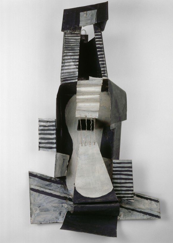 Guitare Picasso Pablo (dit), Ruiz Blasco Pablo (1881-1973) Paris, musée Picasso