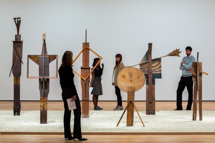 Los bañistas en el MoMA - Ph: Pablo Enriquez