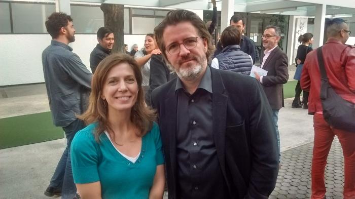 MPZ con Olafur Eliasson en México, diciembre 2015