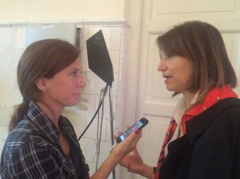con Diana Weschler (Ph: Teresa Pereda)-
