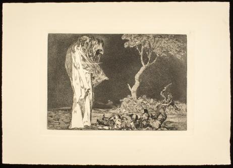 1- De la serie Los Proverbios o Disparates. Francisco de Goya y Lucientes, 1970. Decima edicion. Biblioteca Lazaro Galdiano. Madrid