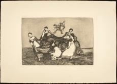 2- De la serie Los Proverbios o Disparates. Francisco de Goya y Lucientes, 1970. Decima edicion. Biblioteca Lazaro Galdiano. Madrid
