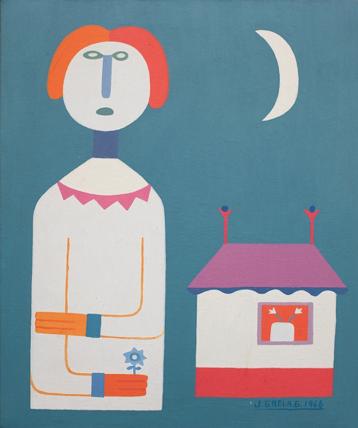 morocha, 1966, oleo, 60x50 cm