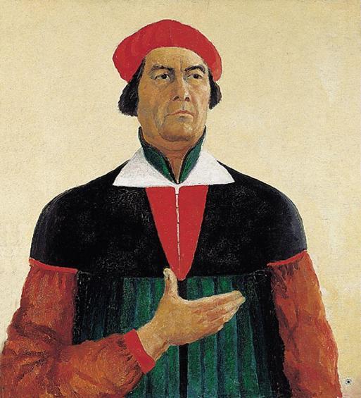 Autorretrato, 1933, Óleo sobre lienzo 73 x 66