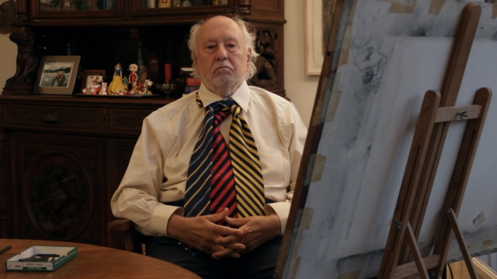 En La cuarta corbata, Roux repasa una de sus obras emblemáticas, el mural de la torre Bank Boston