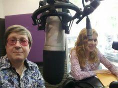 Benito y Karina en Radio Cultura