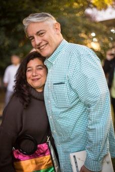 Mariela Ivanier y Luis Ayala, coleccionistas. - PH: Pato Parodi.