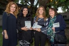 Karina El Azem, Silvana Muscio, MPZ y Marie Orenzans