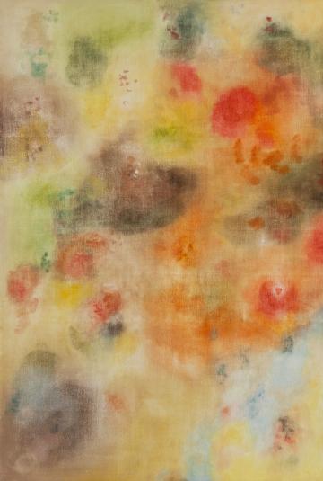 Silvia Gurfein - El trabajo en lo echado a perder (II) - oleo sobre tela - 105x75cm - 2019