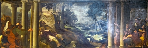 Tintoretto, San Rocco atacado por la peste.