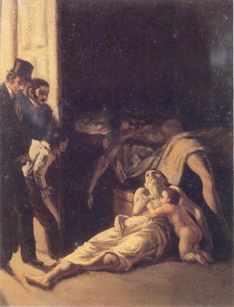 Boceto de Un episodio de fiebre amarilla